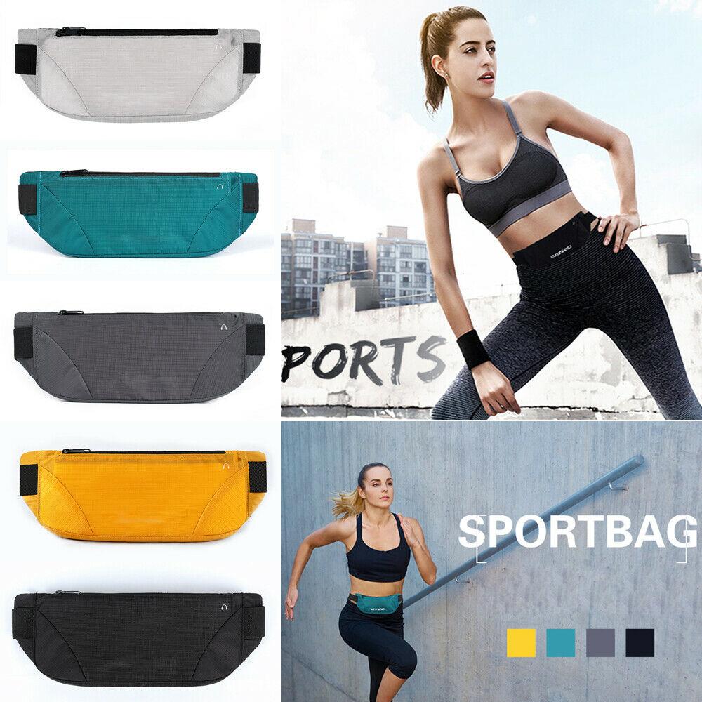 Sport Runner Fanny Pack Belly Waist Bum Bag Fitness Running Jogging Belt Pouch