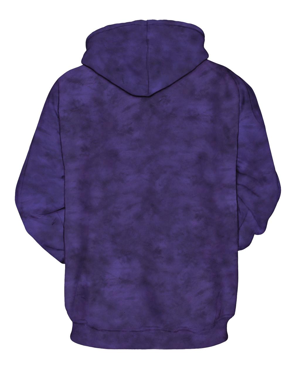 Women Men 3D Space Galaxy Printed Wolf Sweatshirt Pullover Hoodie Sweater Tops