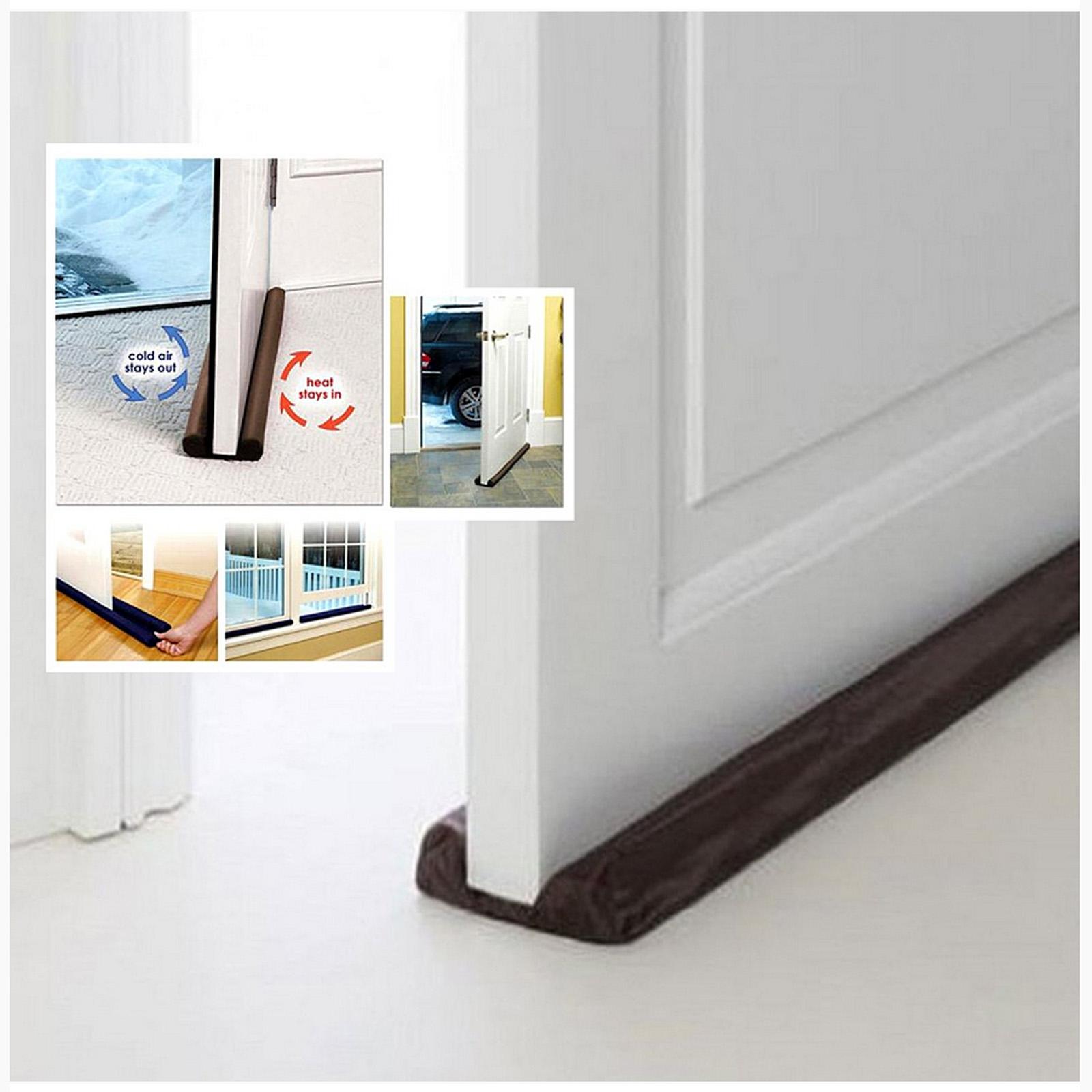 Twin Draft Guard Wind Dust Blocker Sealer Stopper Insulator for Door Windows & Twin Draft Guard Wind Dust Blocker Sealer Stopper Insulator for Door ...