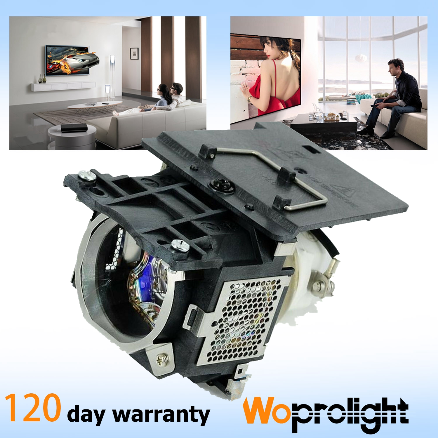 Premium Projector Lamp for Benq 5J.J2K02.001,W500