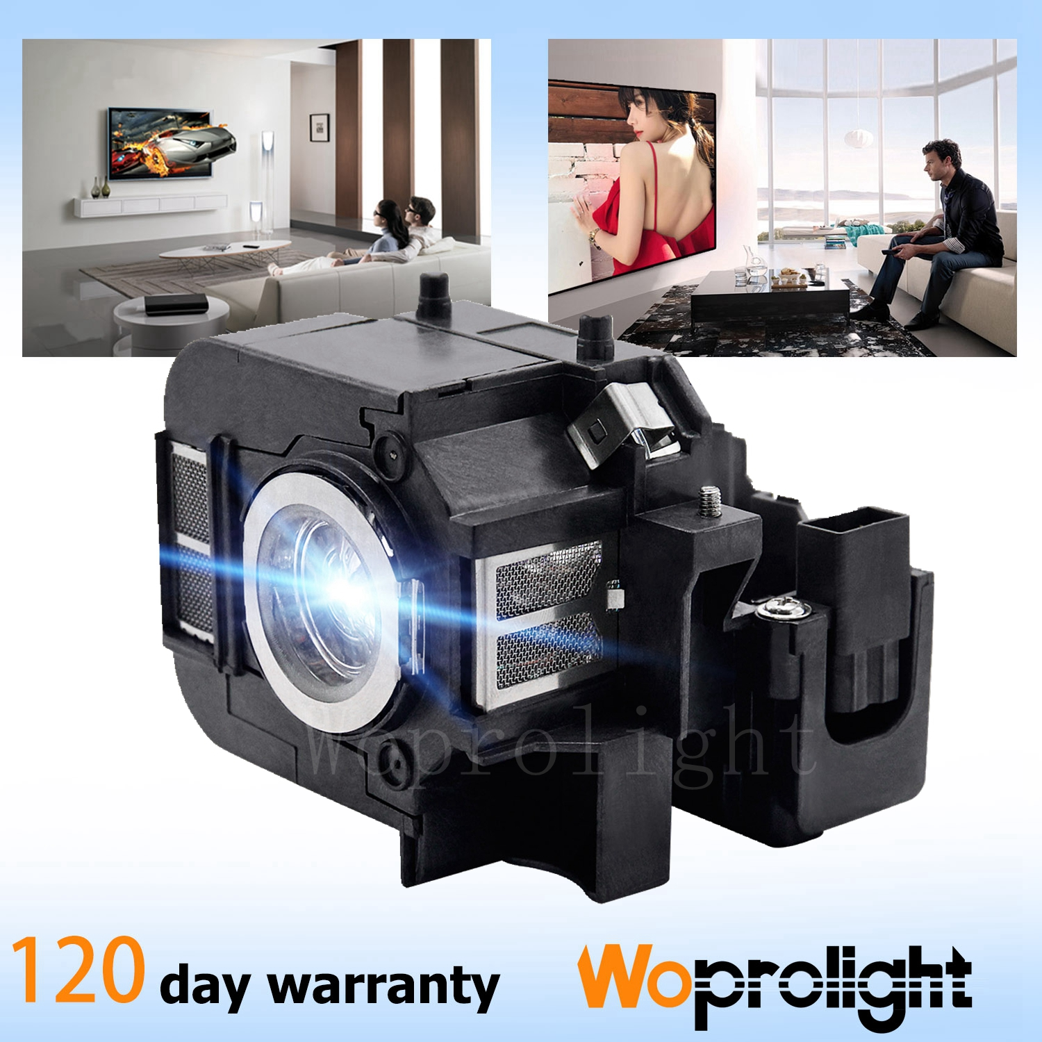 H ,EB-825 Projector Lamp for Epson ELPLP50,V13H010L50,EB-84,EB-85,EB-825,EB-84 ,PowerLite 825,PowerLite 825+,PowerLite 826W,PowerLite 826W+ H