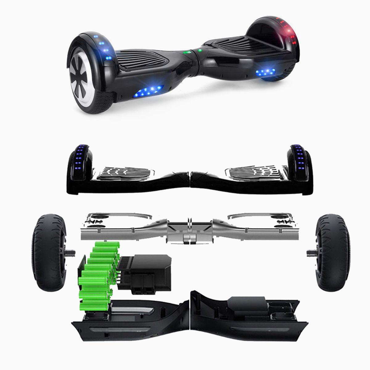 6 5 skateboard e balance scooter elektroroller skateboard. Black Bedroom Furniture Sets. Home Design Ideas