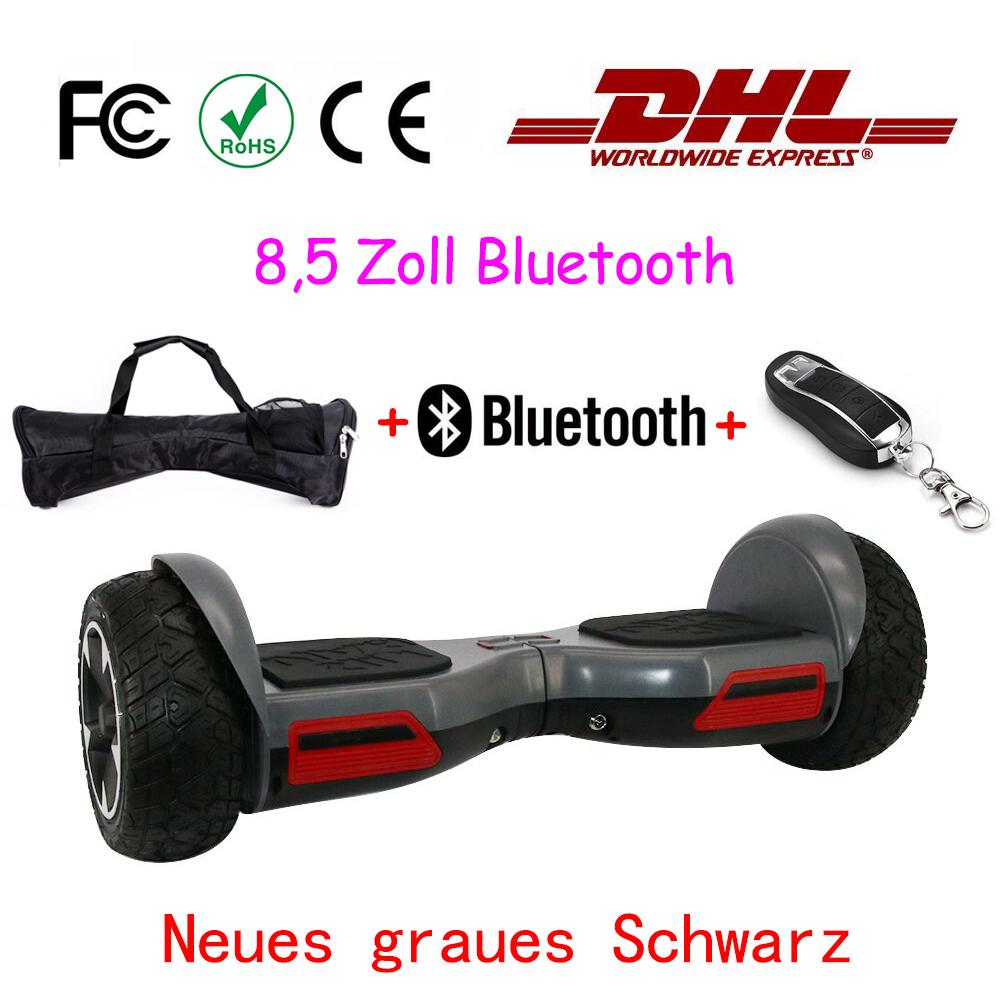 6 5 8 5 zoll bluetooth skateboard smart elektro scooter. Black Bedroom Furniture Sets. Home Design Ideas
