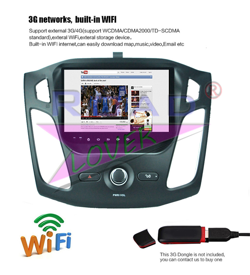 Details about For Ford Focus 2012-2015 Car GPS Stereo Player Android 8 1  Octa Core Auto Radio