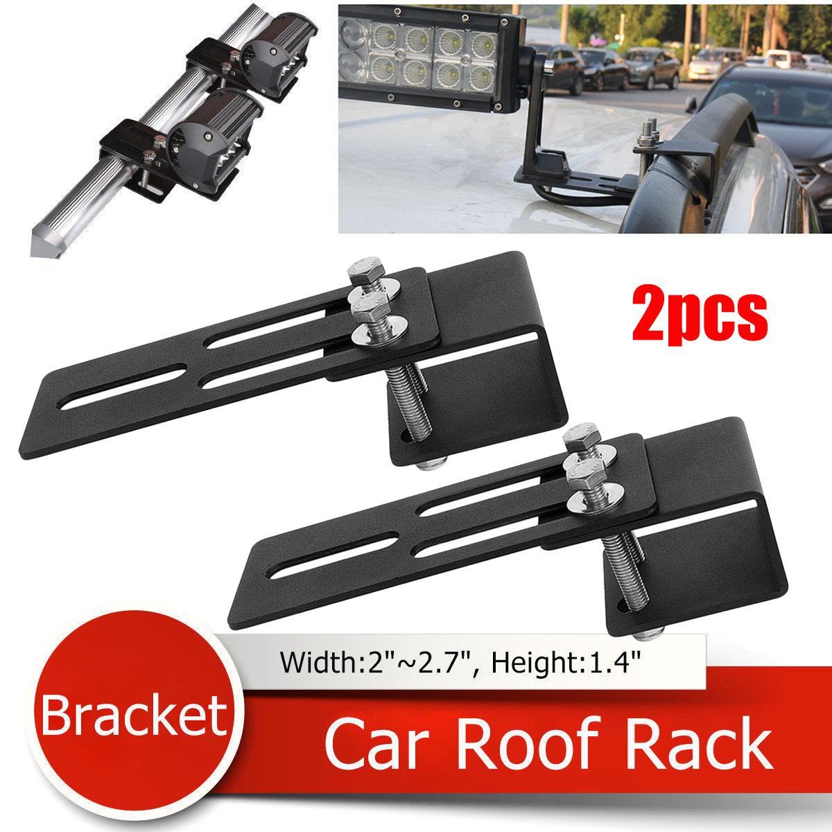 2x Universal Car Light Mount Bracket Clamp Holder Led Work Light Bar for SUV UK