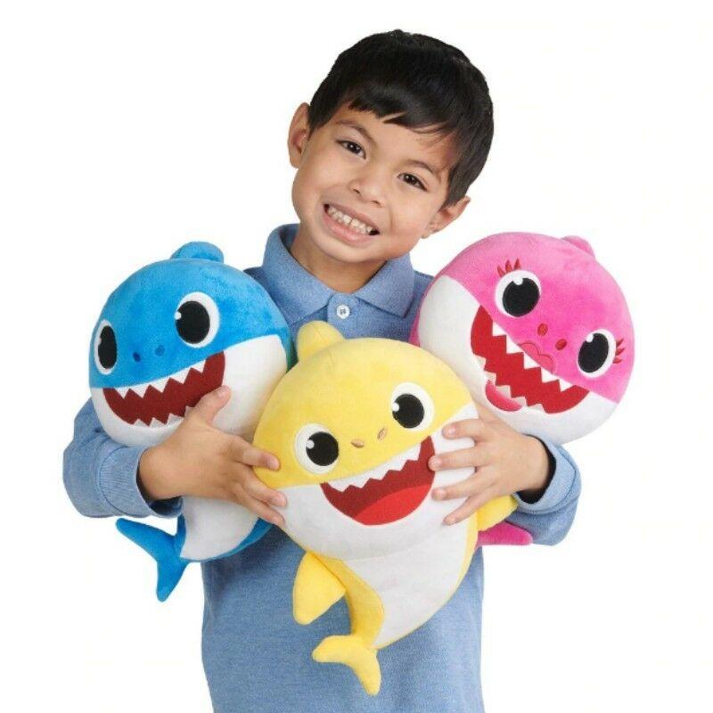Baby Shark Plüsch Singen Plüsch Spielzeug /& Musik Puppe Englisch Lied Spielzeug