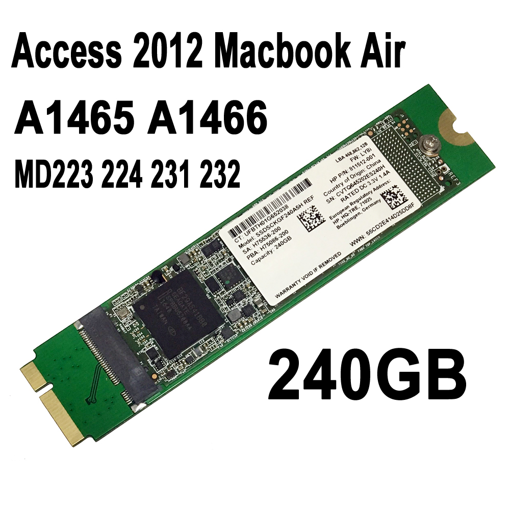 NEW 1TB 1000G SSD For Apple 2012 MacBook AIR A1465 A1466 MD231 MD232 MD223 MD224