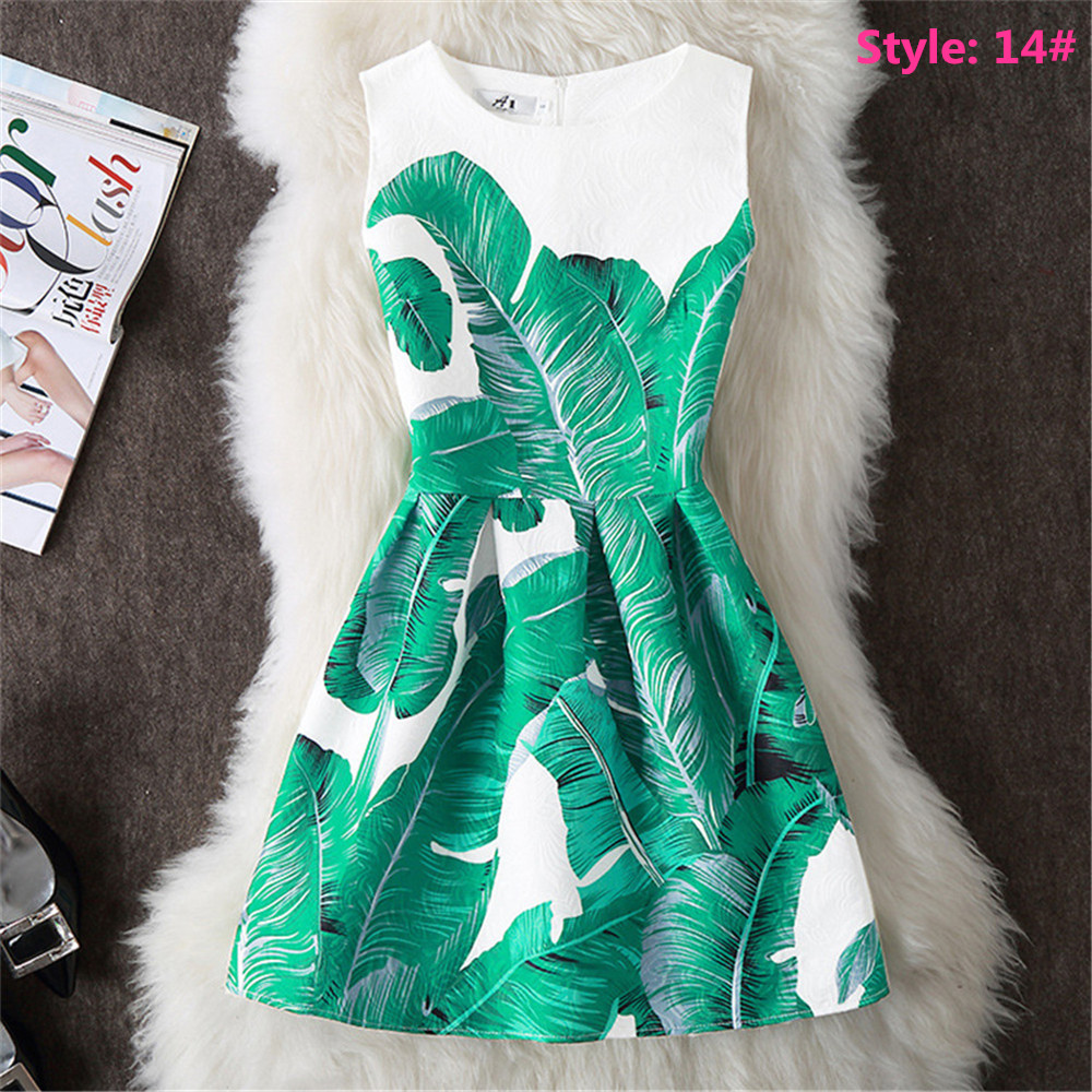 UK Parent-Child Outfit Mother Daughter Womens Girls Print Casual ...