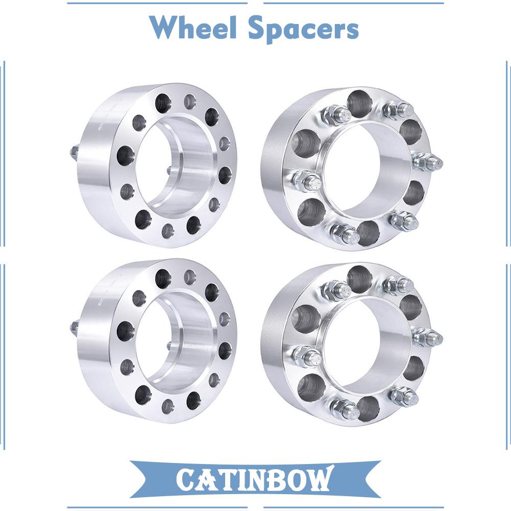 "4x Billet 1//2/"" Wheel Spacers 6x5.5 Fits Toyota 4 Runner FJ Cruiser Tacoma Tundra"