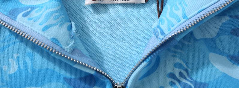 //Cool 25th Anniversary A Bathing Ape Bape Hoodie Cotton Splice Jacket Coats Camo