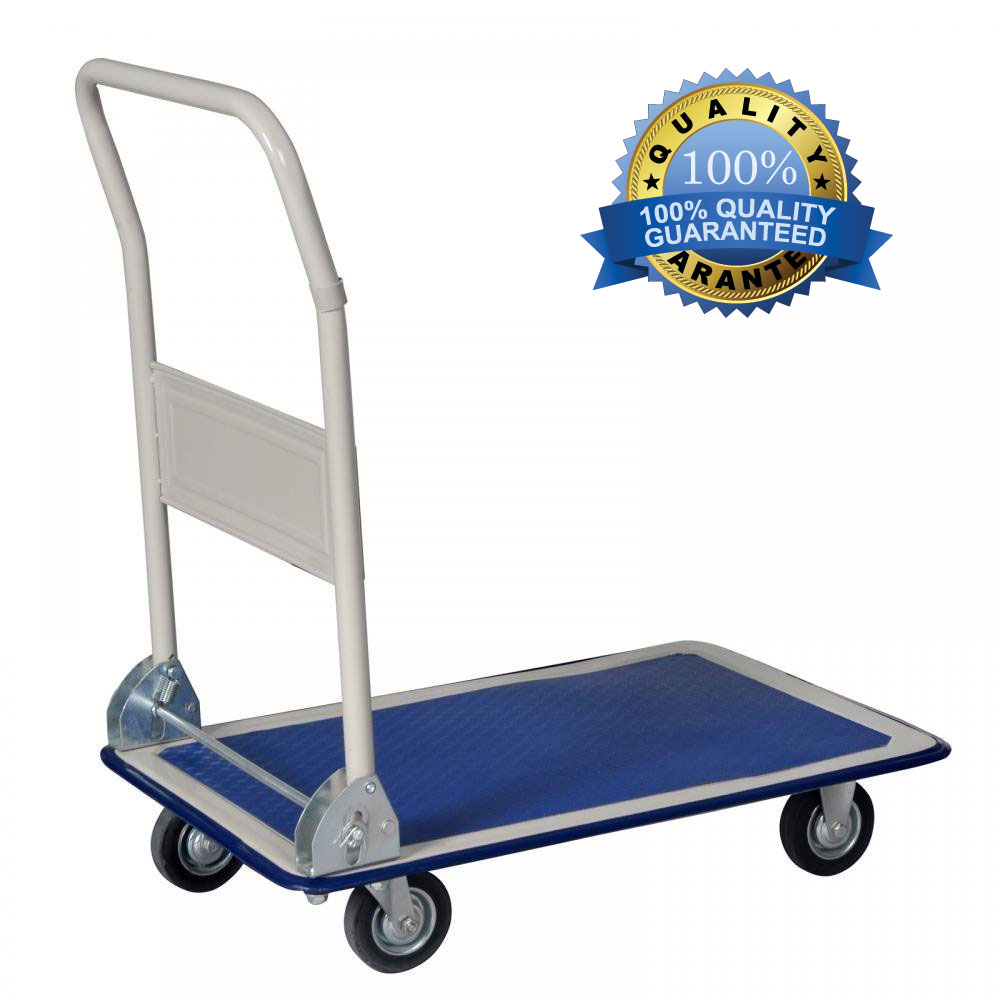 8e66c41e343d Details about 330lbs Platform Cart Dolly Folding Foldable Moving Warehouse  Push Hand Truck New
