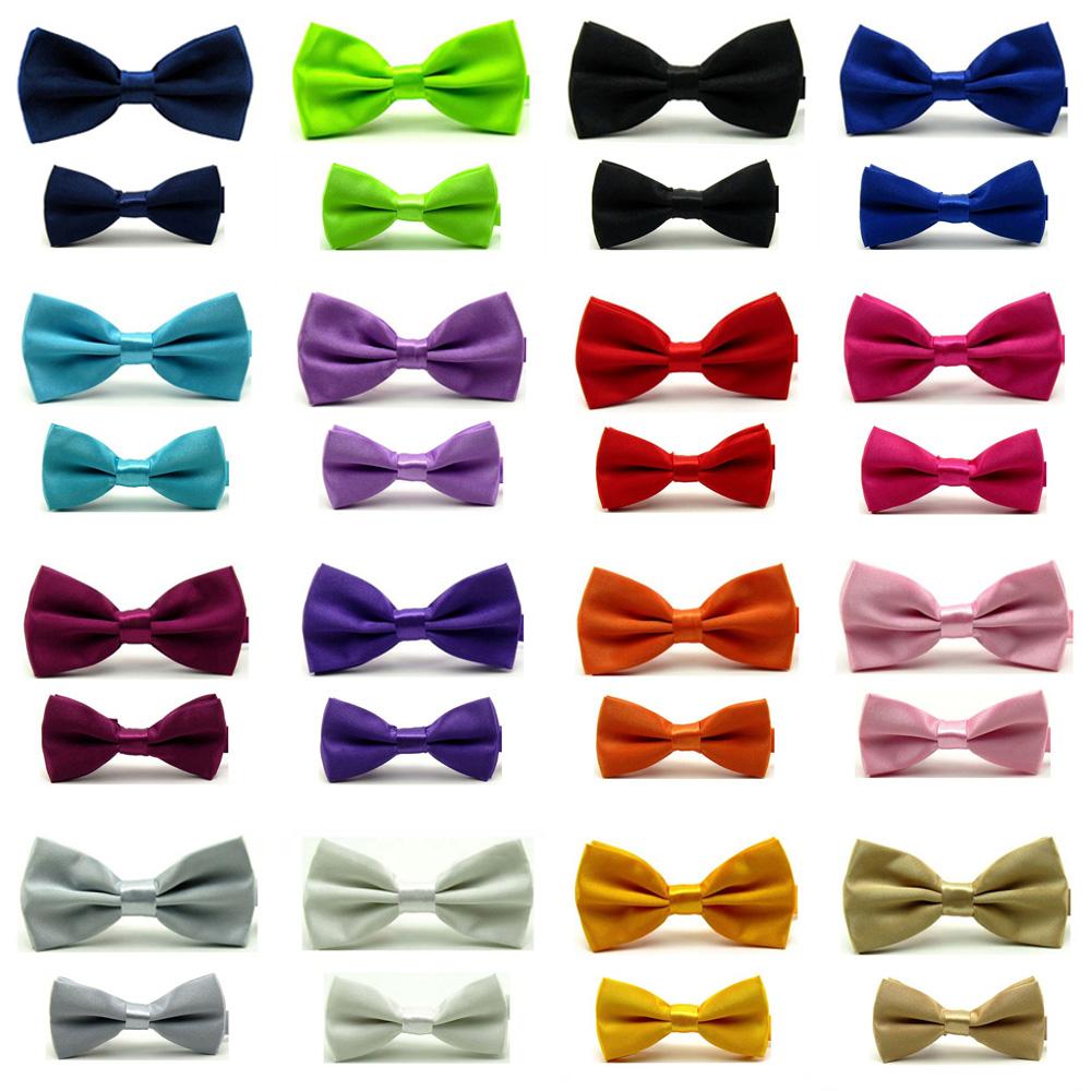 Kids Boys Adjustable Plain Formal Wedding Tuxedo Suit Braces Bow Tie Bowties New
