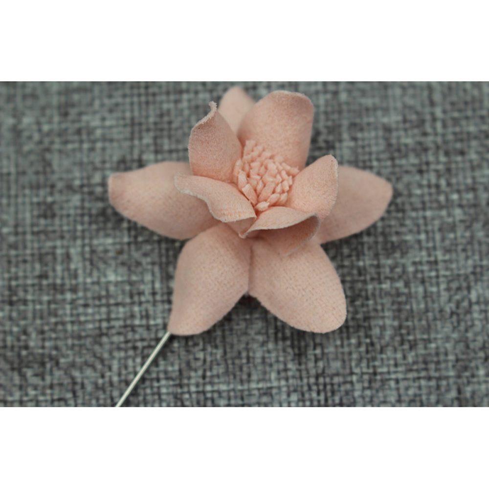 Unisex Flower Lapel Stick Pin Brooch Boutonniere Suit Shirt Accessory QNTIE0020