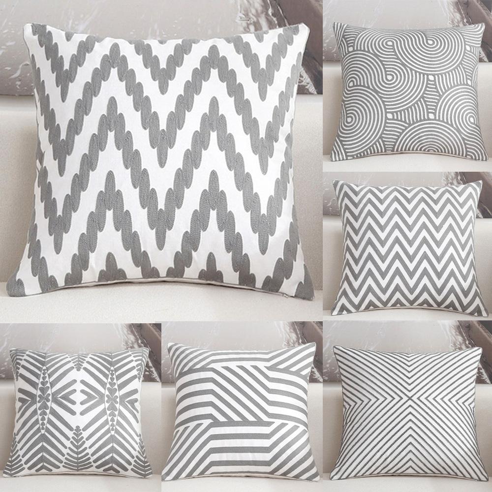 Beautiful Peacock Pattern Cushion Cover Home Sofa Home Throw Pillow Case FN203