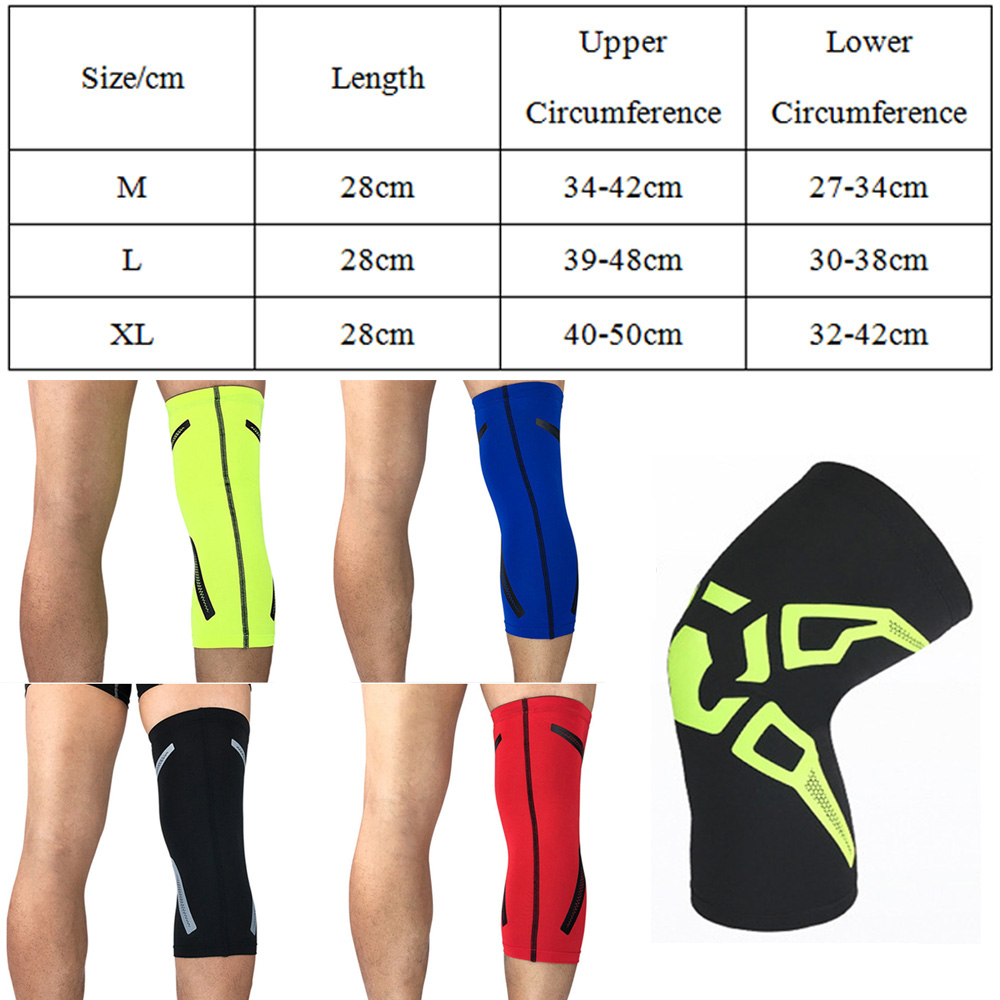 d04874fee3c High Elasticity Compression Knee Pad Fashion Pattern Sports Protective Gear