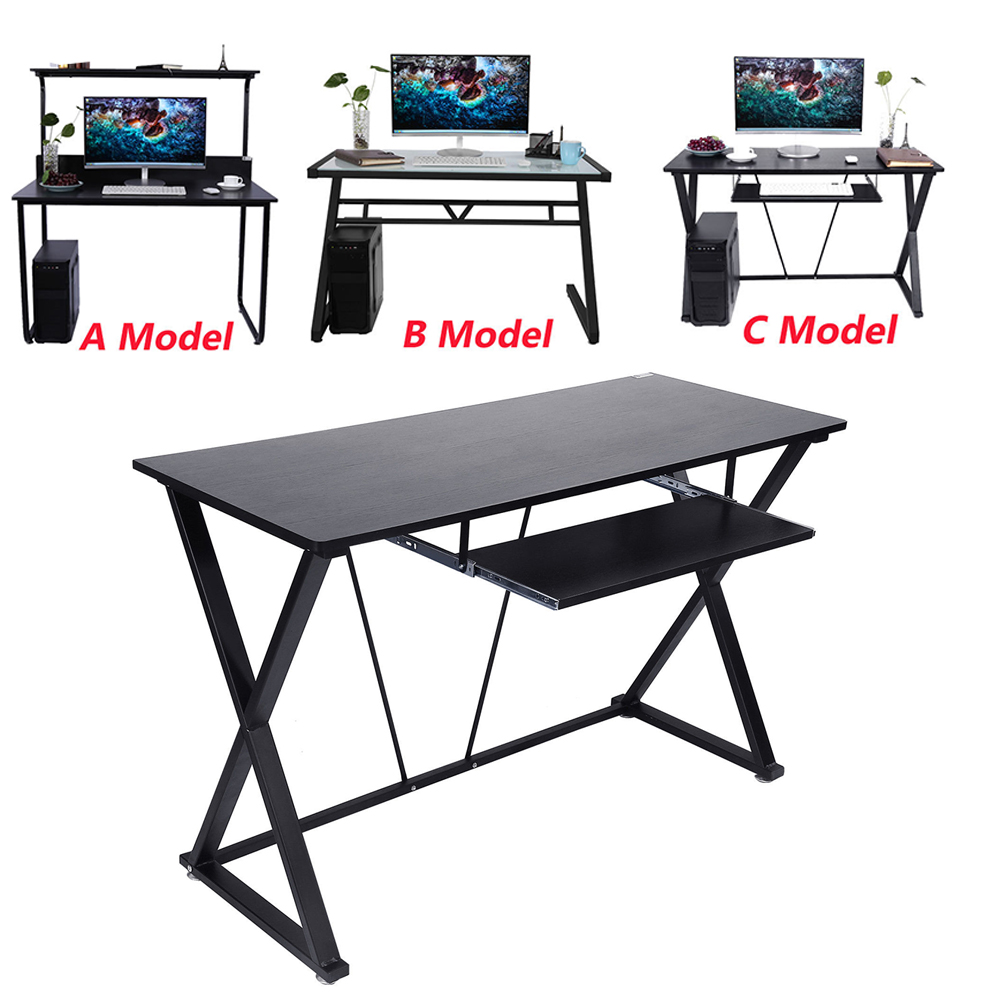 high quality metal computer desk pc table home office workstation