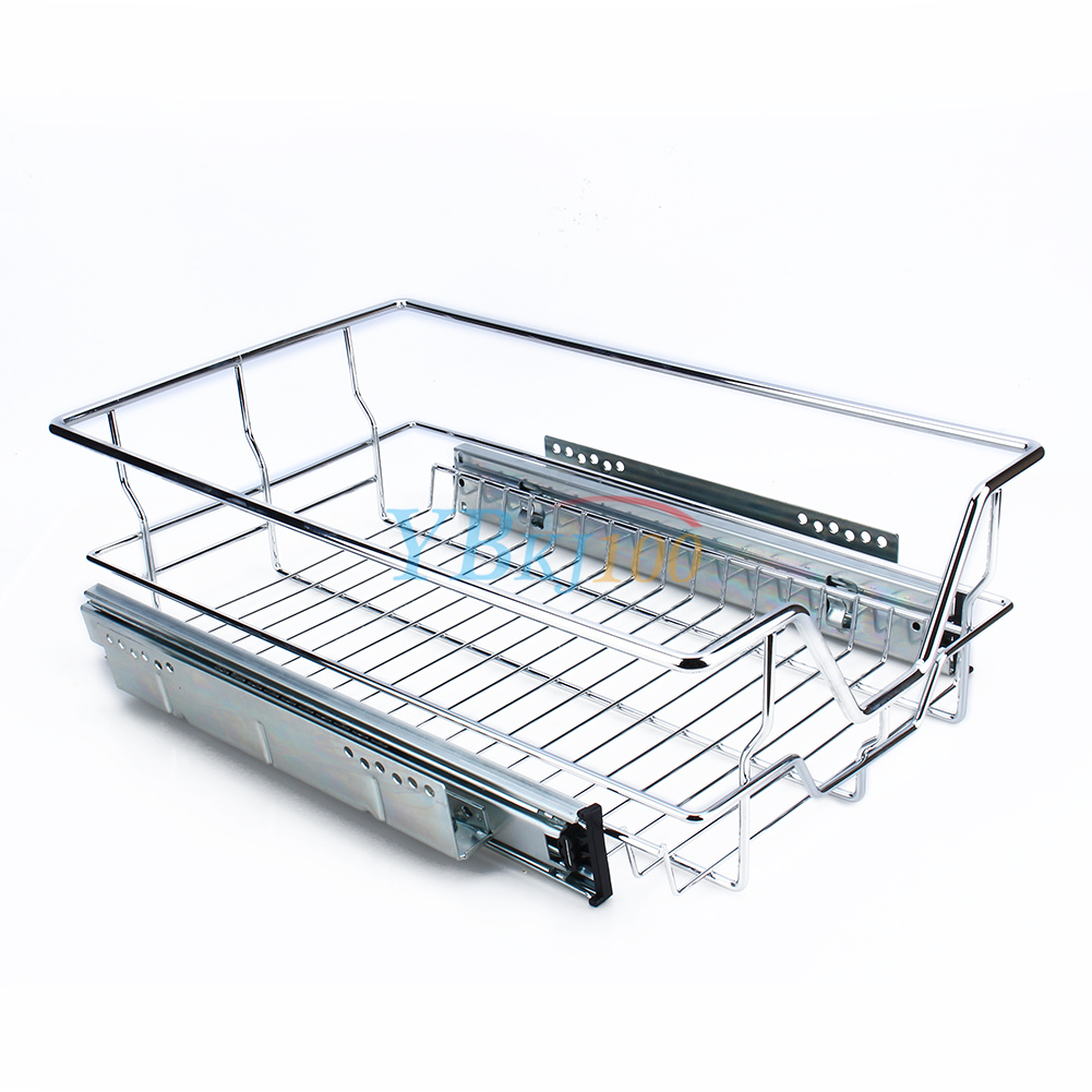 single tier pull out wire basket kitchen cabinet pull out sliding