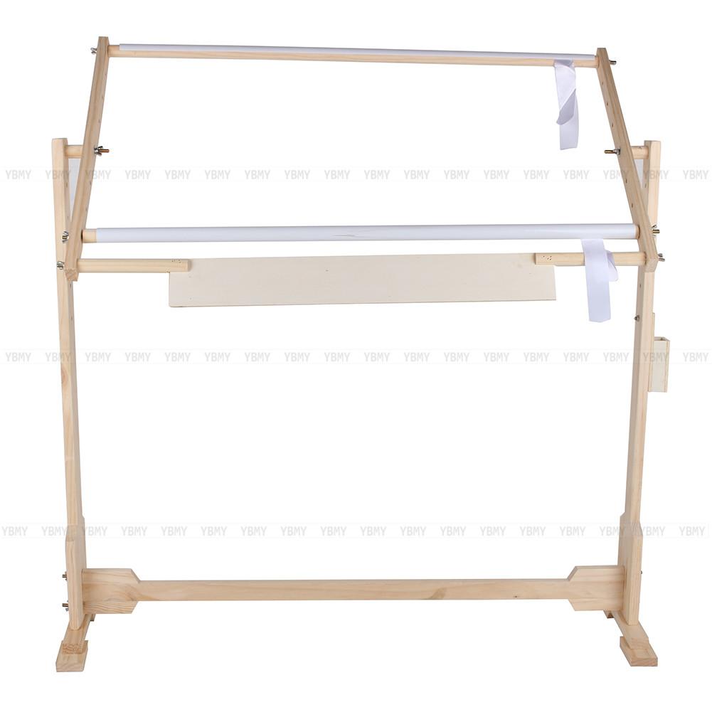 tambour broder support sur pied bois support m tier outil broderie neuf ebay. Black Bedroom Furniture Sets. Home Design Ideas