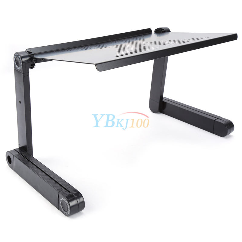 Home Adjustable Portable Foldable Laptop Desk Computer Table Tray Bed Sofa  Stand