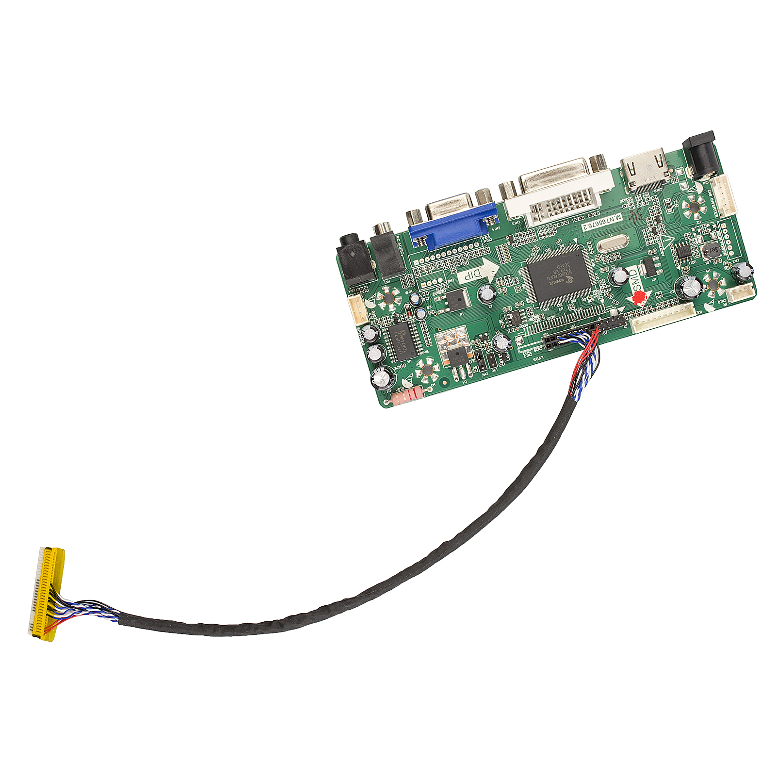 Mnt686762a Hdmi Dvi Vga Audio Lcd Panel Controller Driver Board To Adapter Schematic Diy Monitor