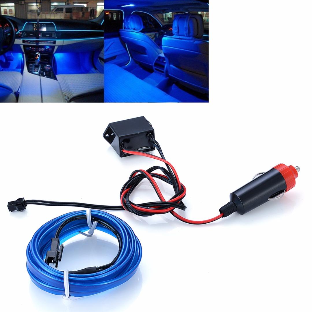 0b92f4b4 3d63 4510 a33d 5ff76f39b099 2m blue el wire car interior decor fluorescent neon cold strip light