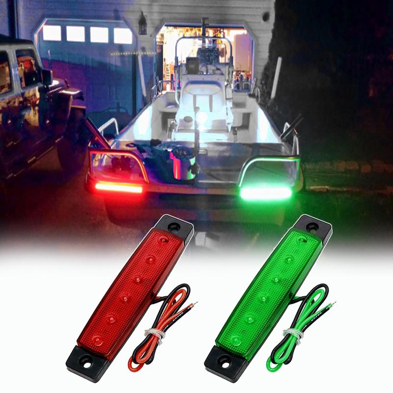 Details About Dc 12v Boat Navigation Lights Stern For Boats Marine Led Light 2pcs