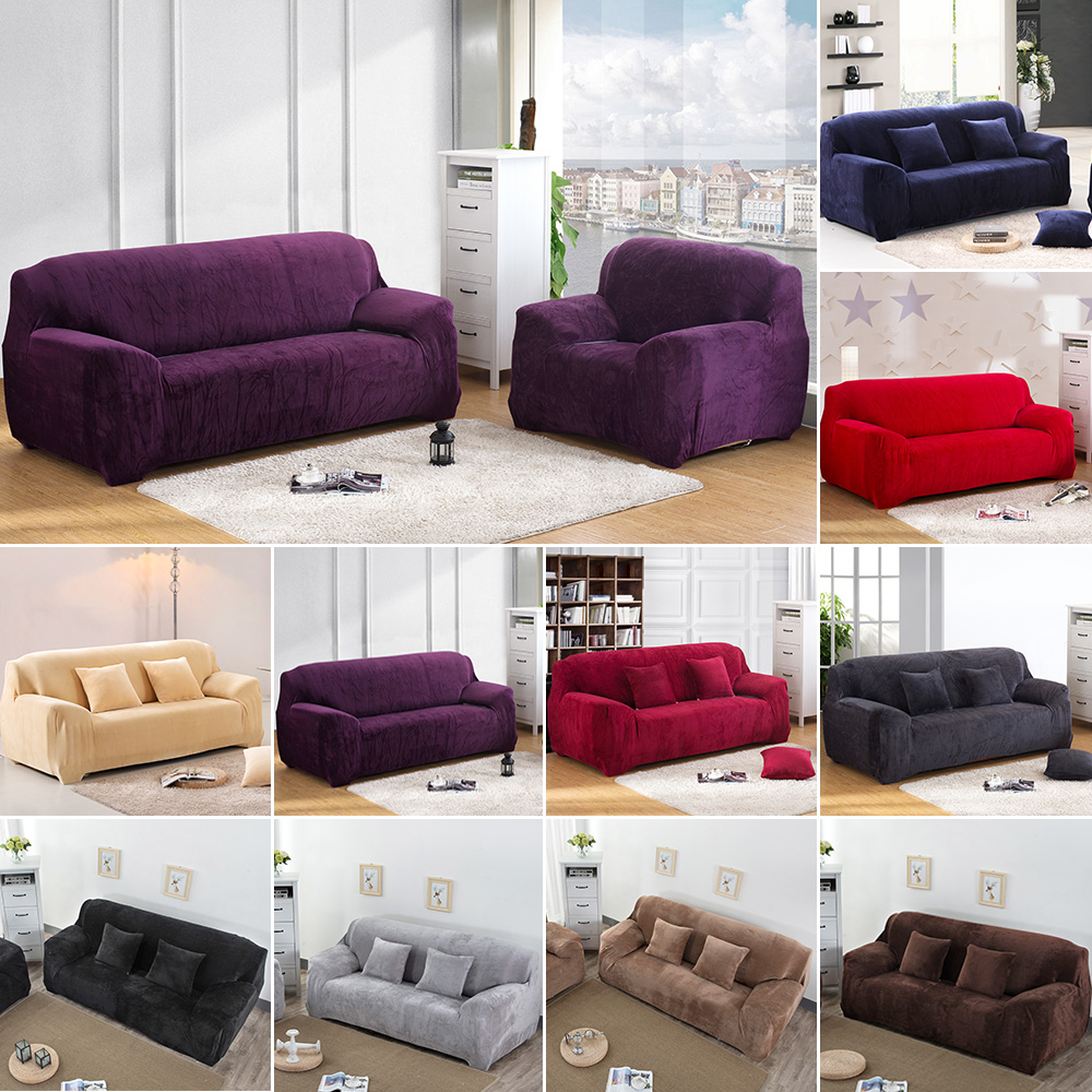 Stretch Chair Cover Recliner Sofa Cover Slipcover 1 2 3 4 Soft Protector Couch