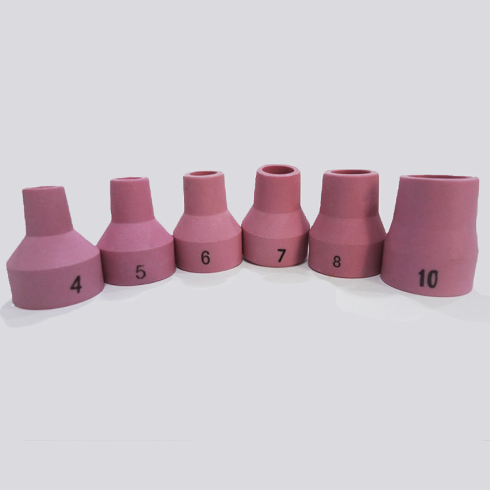 14N57-61 #5 #6 7 #8 #10 Alumina Tig Nozzle Ceramic Cups for  Welding Torch WP-12