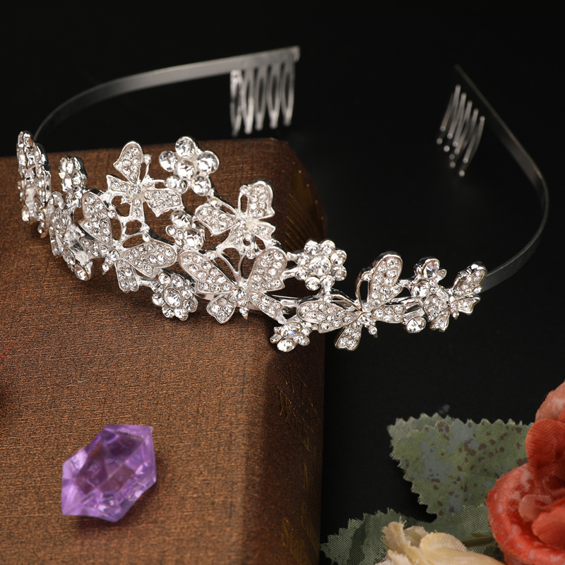 Wedding Bridal Women Prom Pageant Birthday Hair Tiara Crown Princess Headband