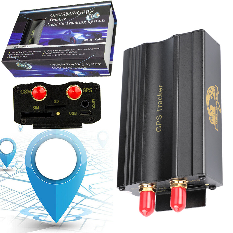 Tk103a Vehicle Car Gps Sms Gprs Tracker Real Time Tracking
