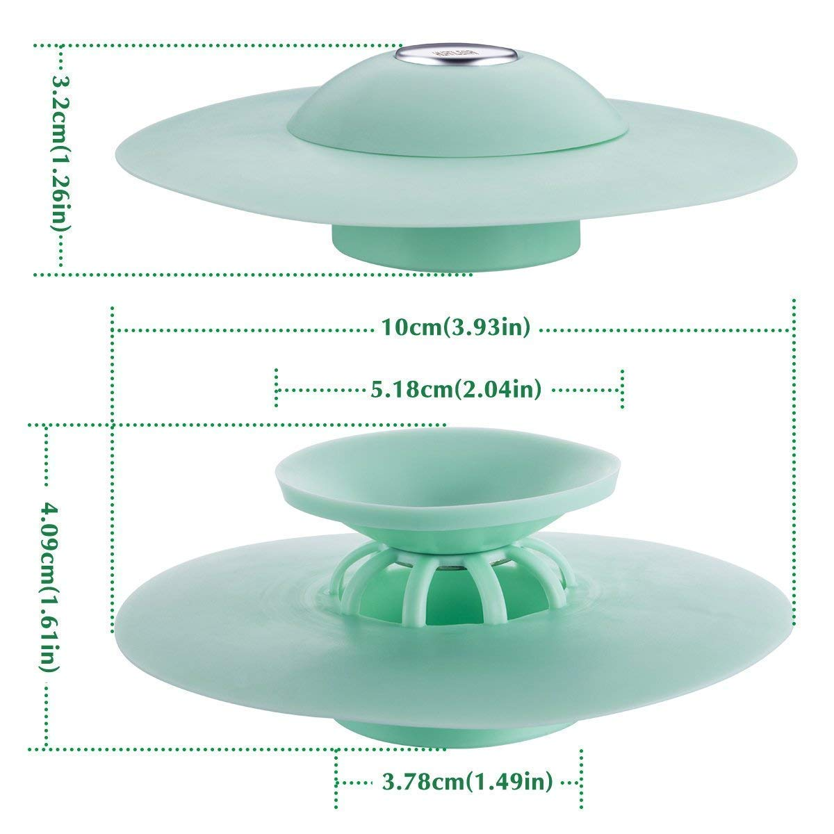 3Pcs//Lot Silicone Sink Drain Plug Kitchen Water Basin Stopper Strainer Cover KIT