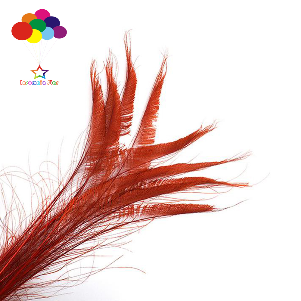20-100 PCS 4-80cm//2-32inches DIY Mixed Color Feathers