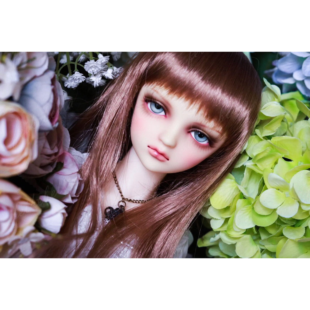 1/3 BJD SD Dolls Pretty Girl Resin Bare Ball Jointed Doll