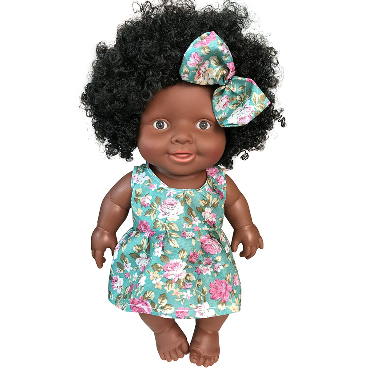 10/'/' Toddler Accompany Gift Reborn Girl Doll Handmade African American Dolls Toy