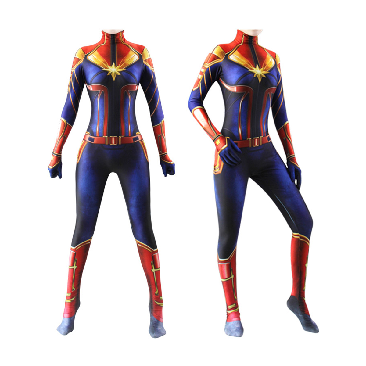 Captain Marvel Women Girls Costume Kids Cosplay Lycra Jumpsuit Party Bodysuit Ebay With the release of the first photo of brie larson in costume in the upcoming captain marvel film (it was a candid set photo, so we don't know for sure what the context of the costume will be), it made us think about the many different. details about captain marvel women girls costume kids cosplay lycra jumpsuit party bodysuit