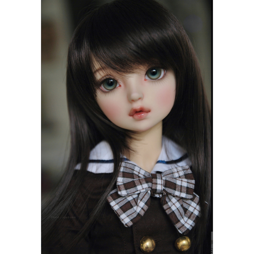 Blank Beautiful 1//4 SD BJD Girl Doll Resin Free eyes Without any makeup