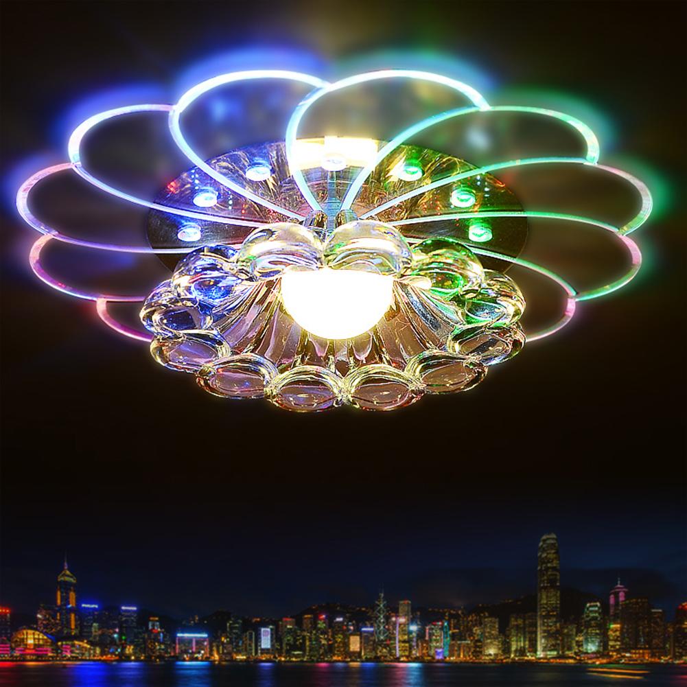 Das Bild Wird Geladen Bunte 5W Kristall LED Deckenleuchte Pendelleuchte Wohnzimmer Moderne