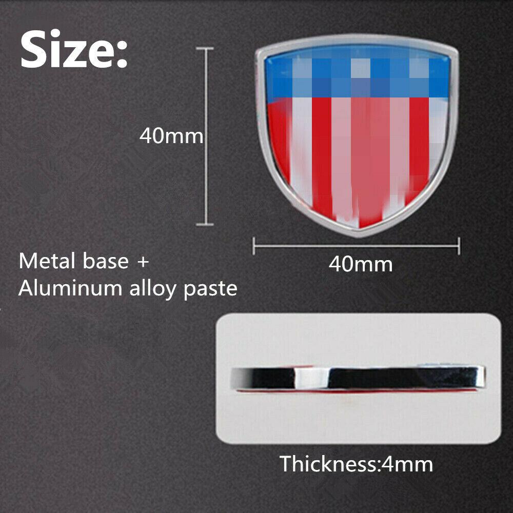 2 3D Metal Car Side Sticker Side Fender Emblem Badge Logo Accessories For Jaguar