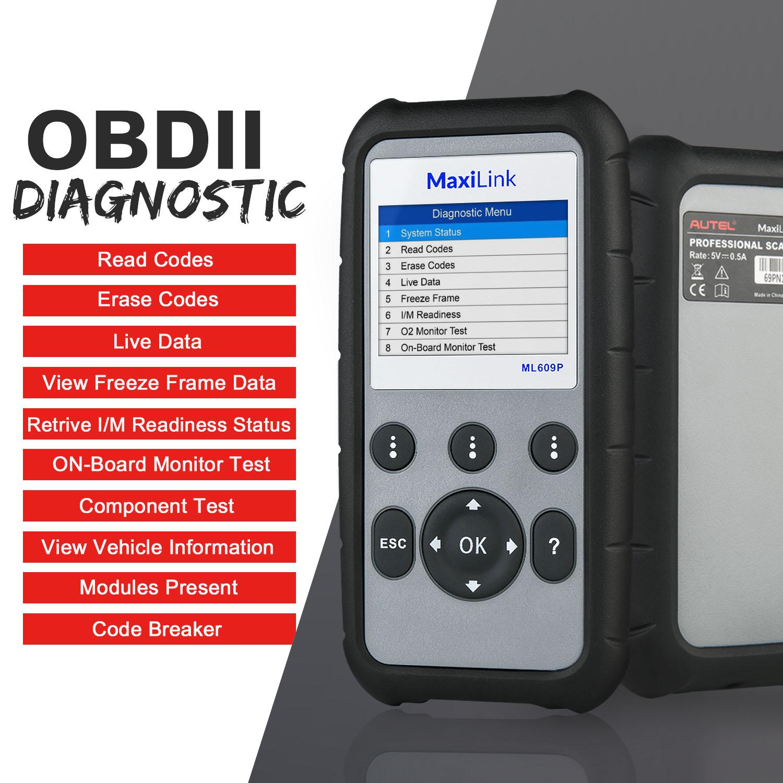 OBD2 outil de diagnostic Scanner Reader ABS Srs Airbag moteur Altar Mercedes Can