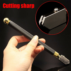 Professional Glass Cutter Diamond Tip Antislip Metal Handle 3-15mm Cutting Tool