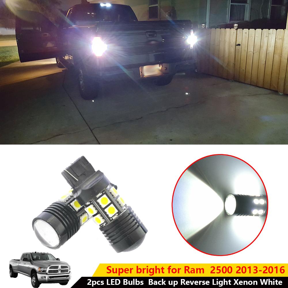 2pcs T20 7440 White 5050 SMD 13 LEDs Lens Lamp Car Stop Turn Signal Light Bulb