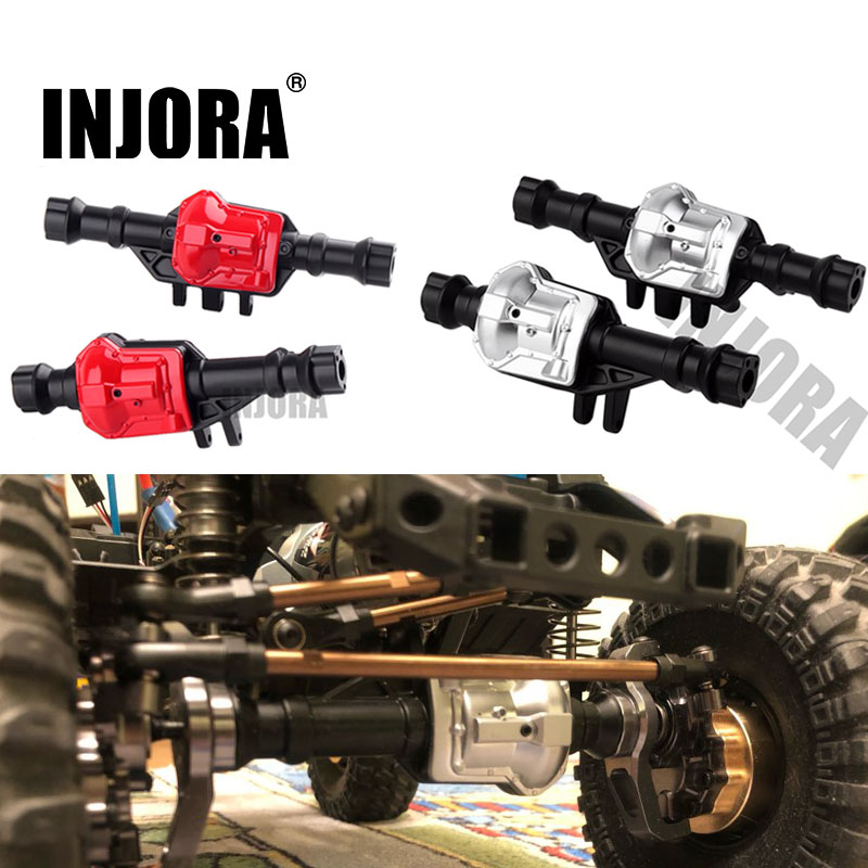 RC Crawler Axial SCX10 Truck 1pcs Steel Alloy Front Rear Axle Housing for 1//10