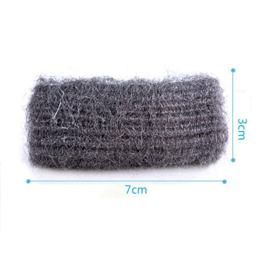0000 Stainless Steel Wool Pads: 12PCS Set Steel Wool Pads Wire Cleaning Ball Stainless