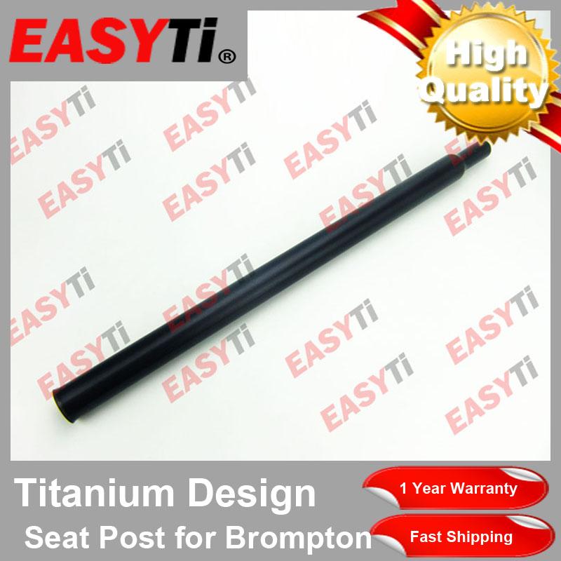 Ti Atom Titanium GR9 31.8x535//560//580//600//620MM  Seatpost Seat Post For BROMPTON