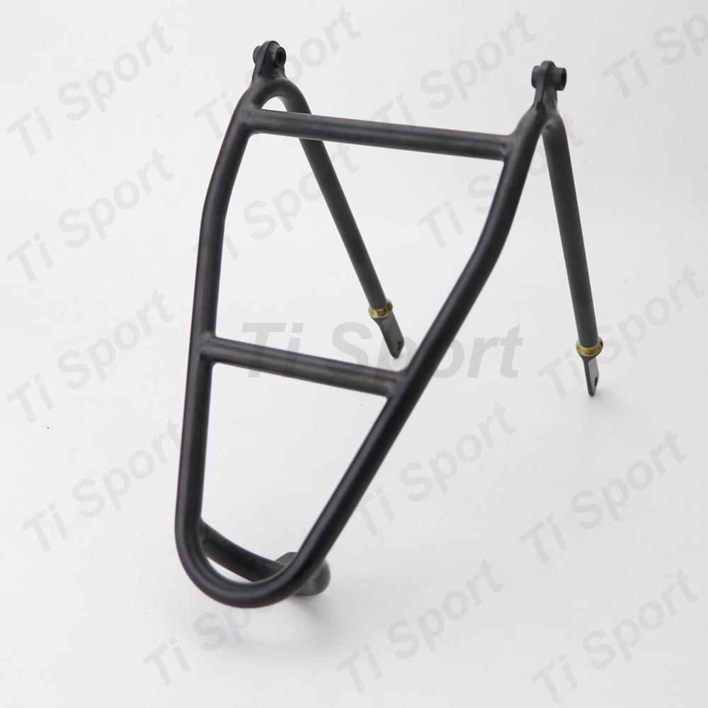 ACE 3.0 Aluminium Q Type Rear Rack for Brompton Bicycle 140g Mini Luggage Shelf