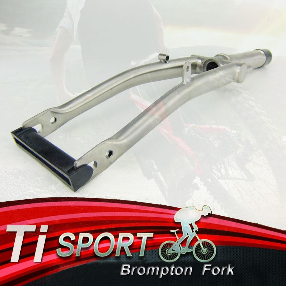 J/&L Titanium S-TYPE flat Handle Bar 25.4mm FOR Dahon//Brompton//Birdy-Ti