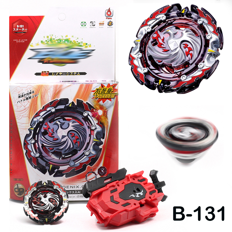 Details about B-131 Dead Phoenix 0 At w/ L-R Launcher Beyblade Burst  Starter Booster Gyro Toy