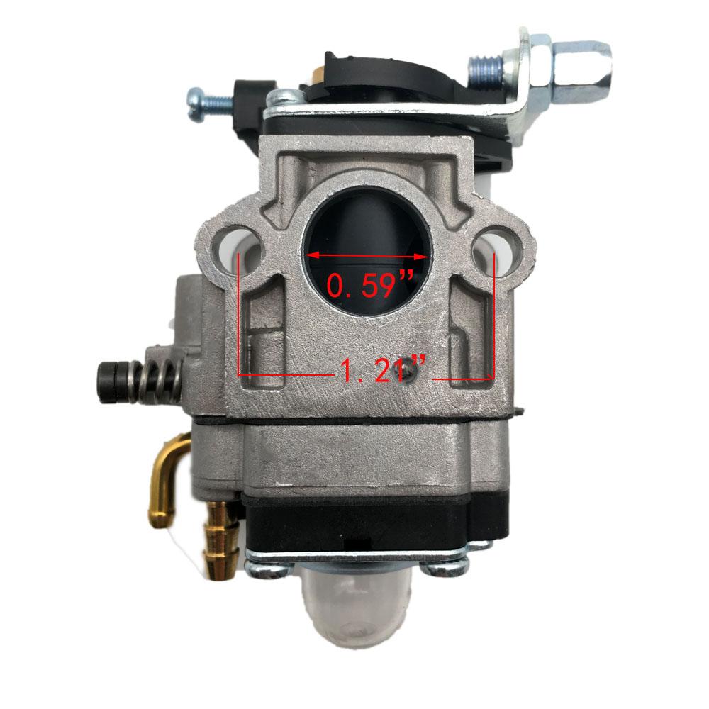 Details about Carburetor carb for Eskimo Mako M43 with Viper 43cc Engine