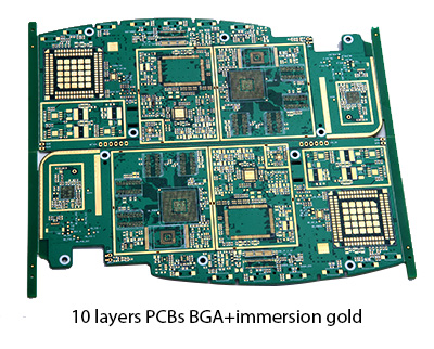 10 layers bga