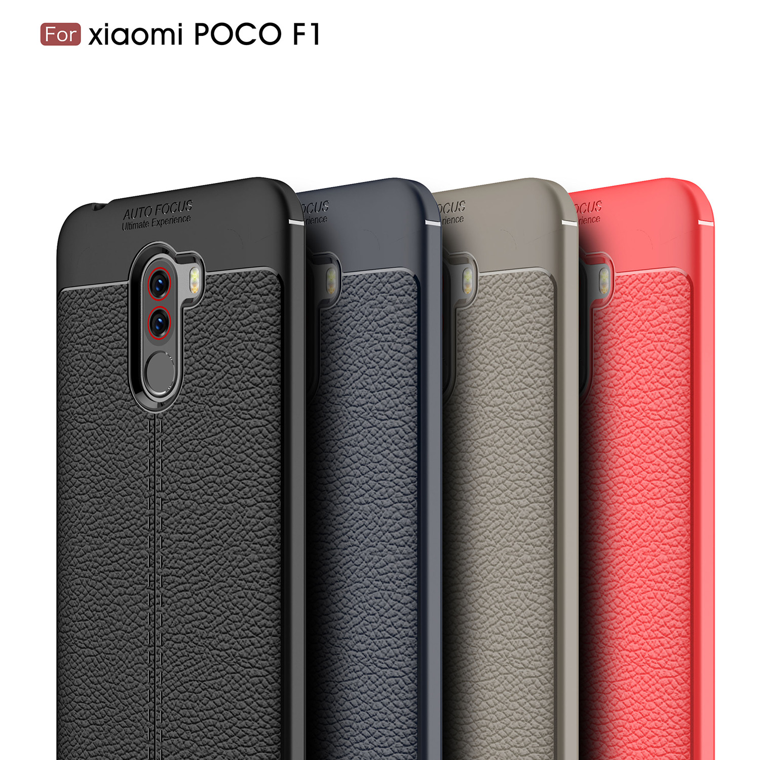 Details about Ultra Slim Shockproof Soft Silicone Skin Case For Xiaomi  Pocophone F1 Soft Cover
